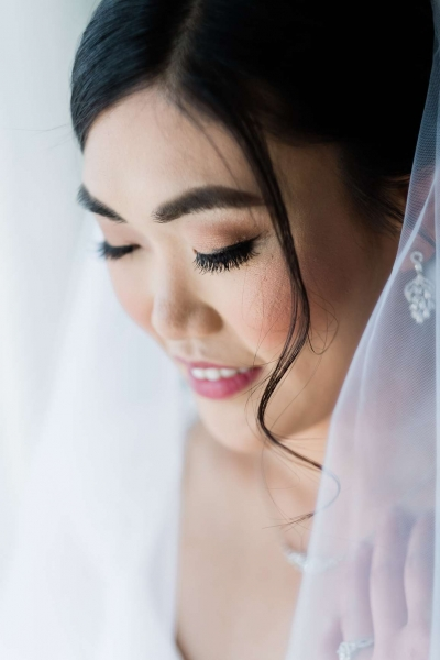 Alice wedding makeup glam bridal