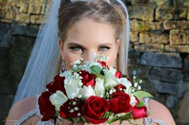 Ilona bridal glam makeup