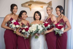 Bridesmaids wedding makeup